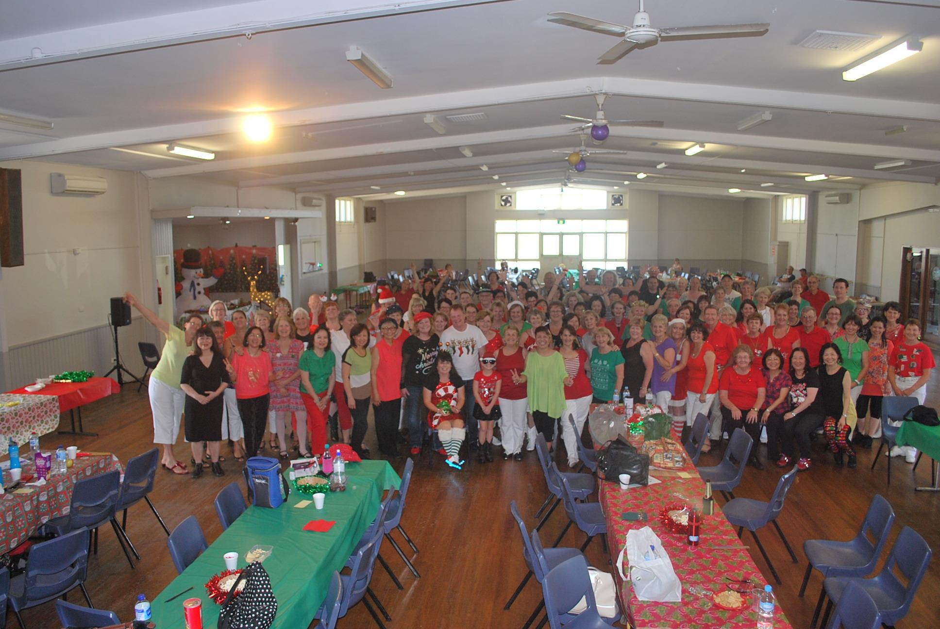 One Liner's Christmas Social 2014